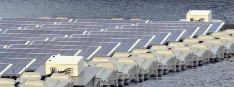 impianto solare galleggiante