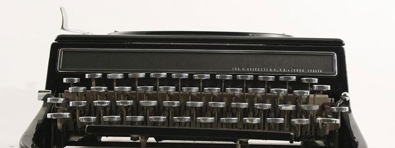 design macchina per scrivere